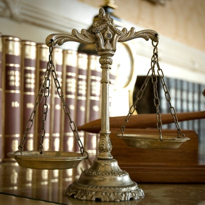 Scales of Justice and Judge`s gavel - Generic Image