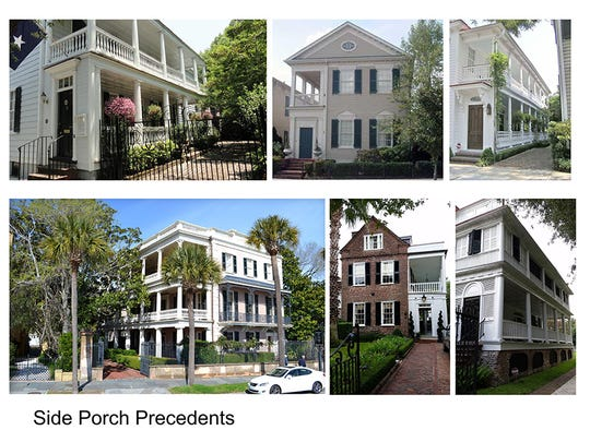 Townhouses and three styles of detached homes are in