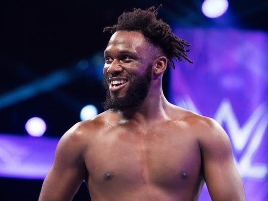 Rich Swann brings the energy in his performances. But