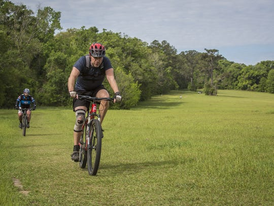 June is Men's Health Month, a time to remember to be active and get 30 minutes of moderate physical activity and get preventive health care. The Miccosukee Greenway park spans 6.5 miles and offers developed trails and open fields popular with cyclists and hikers.