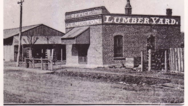 Home of former trees In 1912, right there on Grant Street sat the A.E. Mouton Lumber Yard.
