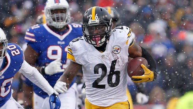 Le'Veon Bell set a franchise record with 236 rushing yards on Sunday.