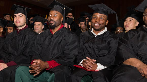 The Bard Prison Initiative celebrated its 15th commencement