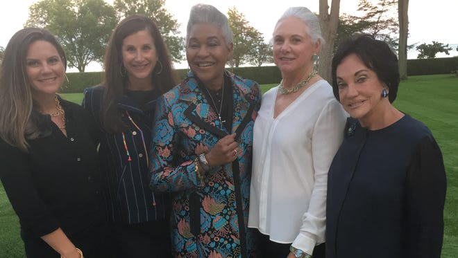 The DIA Gala Celebration co-chairs are Brooke Fisher, from left, Nicole Eisenberg, Juliette Okotie-Eboh, Barbara Fisher and Frances Eisenberg.