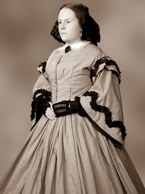 """Laura Keyes will portray Mary Todd Lincoln during """"Afternoon Tea with Mrs. Lincoln,"""" an event hosted by the Portage County Historical Society on June 14."""