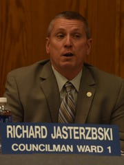 A 2016 photo of Wayne 1st Ward Councilman Richard Jasterzbski.