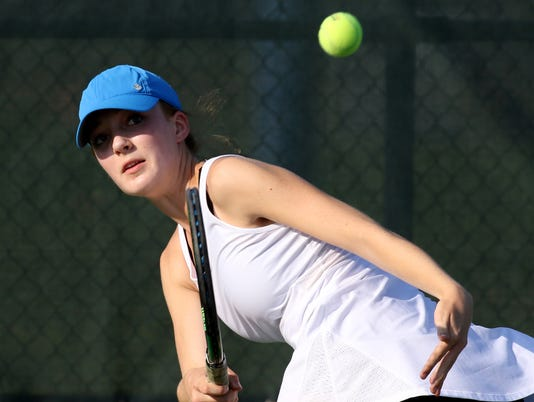 Brookfield Central Girls Tennis vs Brookfield East