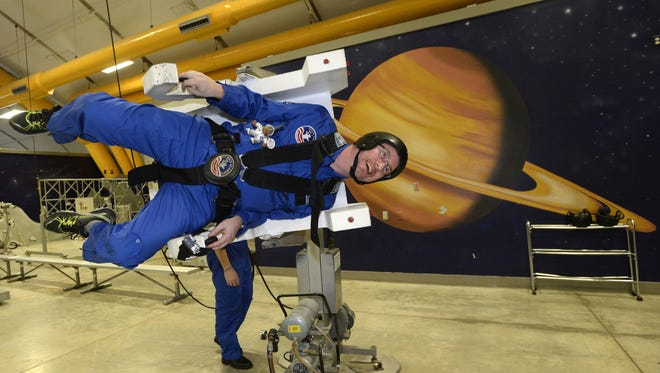 The U.S. Space and Rocket Center offers camps for adults, too.