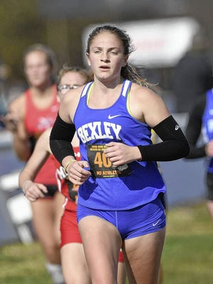 Senior Hannah Hayden is among the top returnees for the Bexley girls cross country team, which finished 12th in the Division I state meet last season at National Trail Raceway.