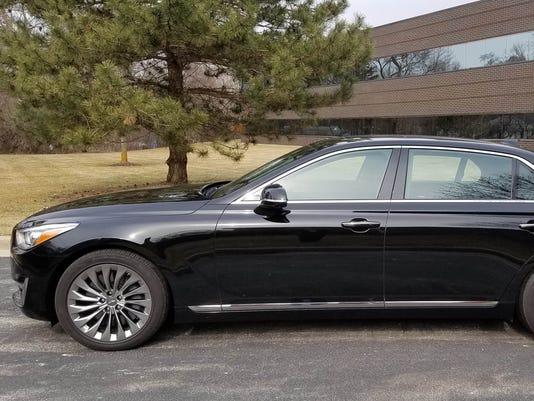 Savage On Wheels Hyundai Genesis Channels Its Inner Bentley