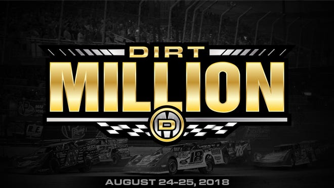 "Mansfield Motor Speedway announced the ""Dirt Million"" race for Aug. 24-25, 2018, on Thursday"