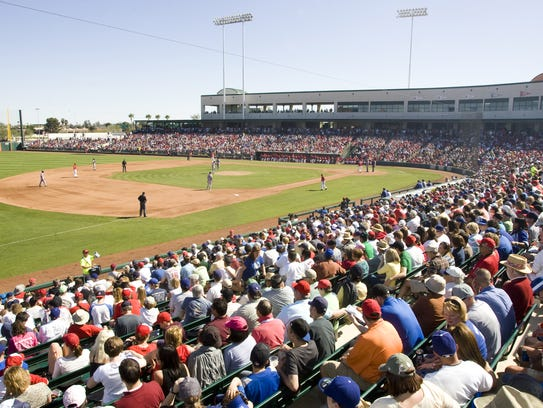 Tempe Diablo Stadium was given a face-lift in 2005