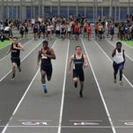 Morris County Championships held at Ocean Breeze Athletic Complex Staten Island Boys 55 Meter Dash Wednesday February 3,2016 photo by Ed Pagliarini