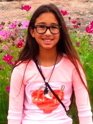 Danica Salinas, a fifth-grader from Most Precious Blood Catholic School, was named the winner of the Daughters of the American Revolution American History Essay Contest. She also placed on the state level.