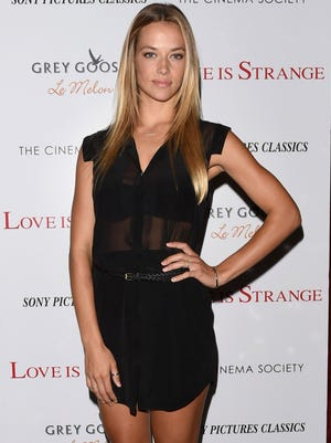 """Model Hannah Ferguson attends the Sony Pictures Classics with The Cinema Society & Grey Goose screening of """"Love is Strange"""" at Tribeca Grand Hotel on Aug. 18, 2014, in New York City."""