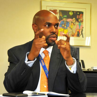 Desmond Blackburn, Brevard School Superintendent, talks