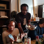Tunde Wey, 32, is the brains behind From Lagos, a traveling Nigerian dinner pop-up and conversation series that's recently been focused on the topic of blackness in America.
