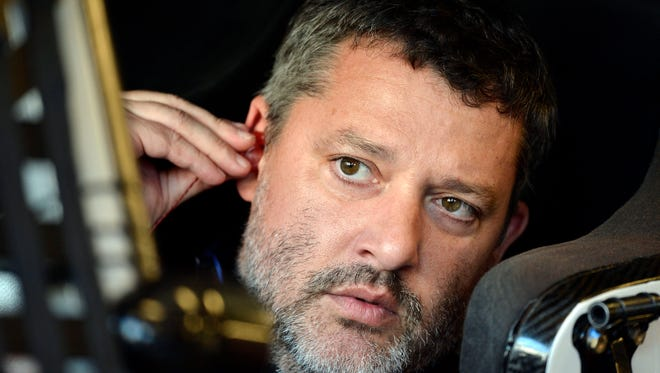 Tony Stewart broke his back in an ATV accident and will miss the Daytona 500.