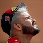 Reds troll Goodyear weather