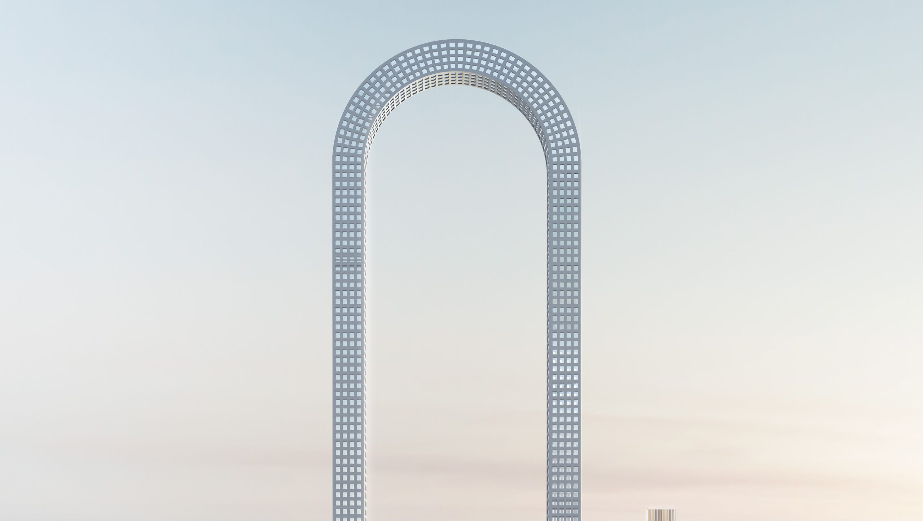u-shaped nyc skyscraper would be 'longest in the world'