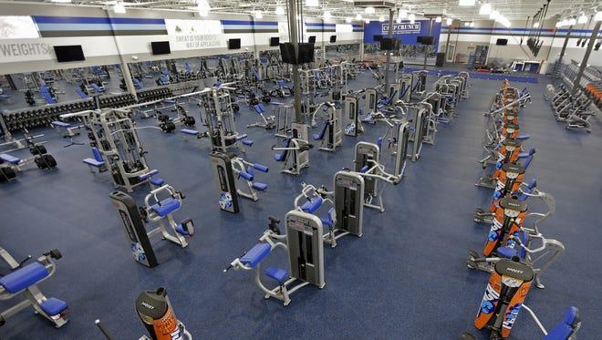 Crunch Fitness opens Saturday in Appleton.
