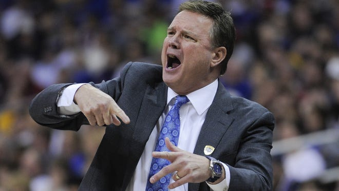 Kansas coach Bill Self