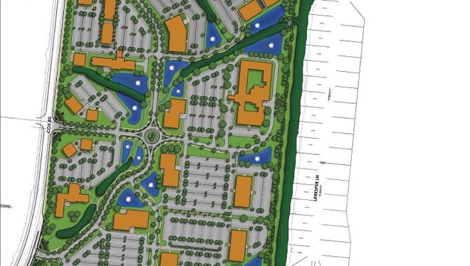 Government officials will soon analyze a proposed development plan from Miller-Valentine Group for its $225 million project at Liberty Way and Cox Road in Liberty Township.