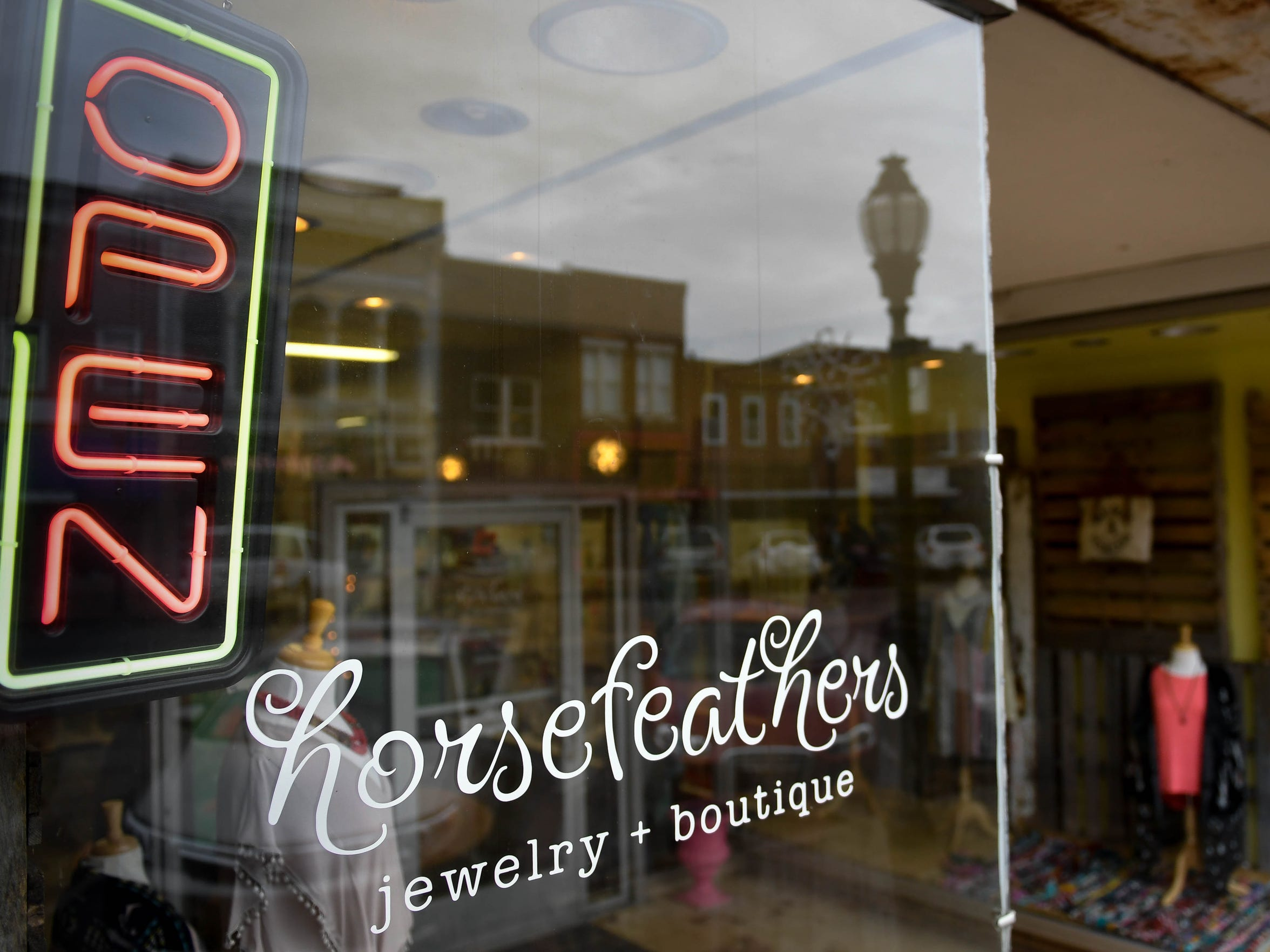 HorseFeathers Jewelry & Boutique store and studio on North Main Street in Henderson Thursday, January 19, 2017.