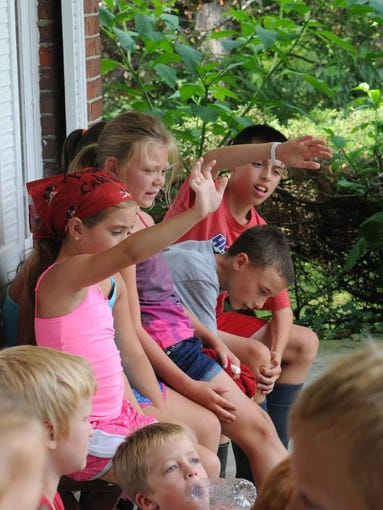 Tom Sawyer Days at Creek Bend Farm on Monday, July 21, 2014.