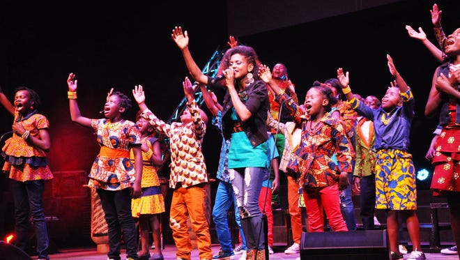 The Watoto Children's Choir performs in this undated courtesy photo.