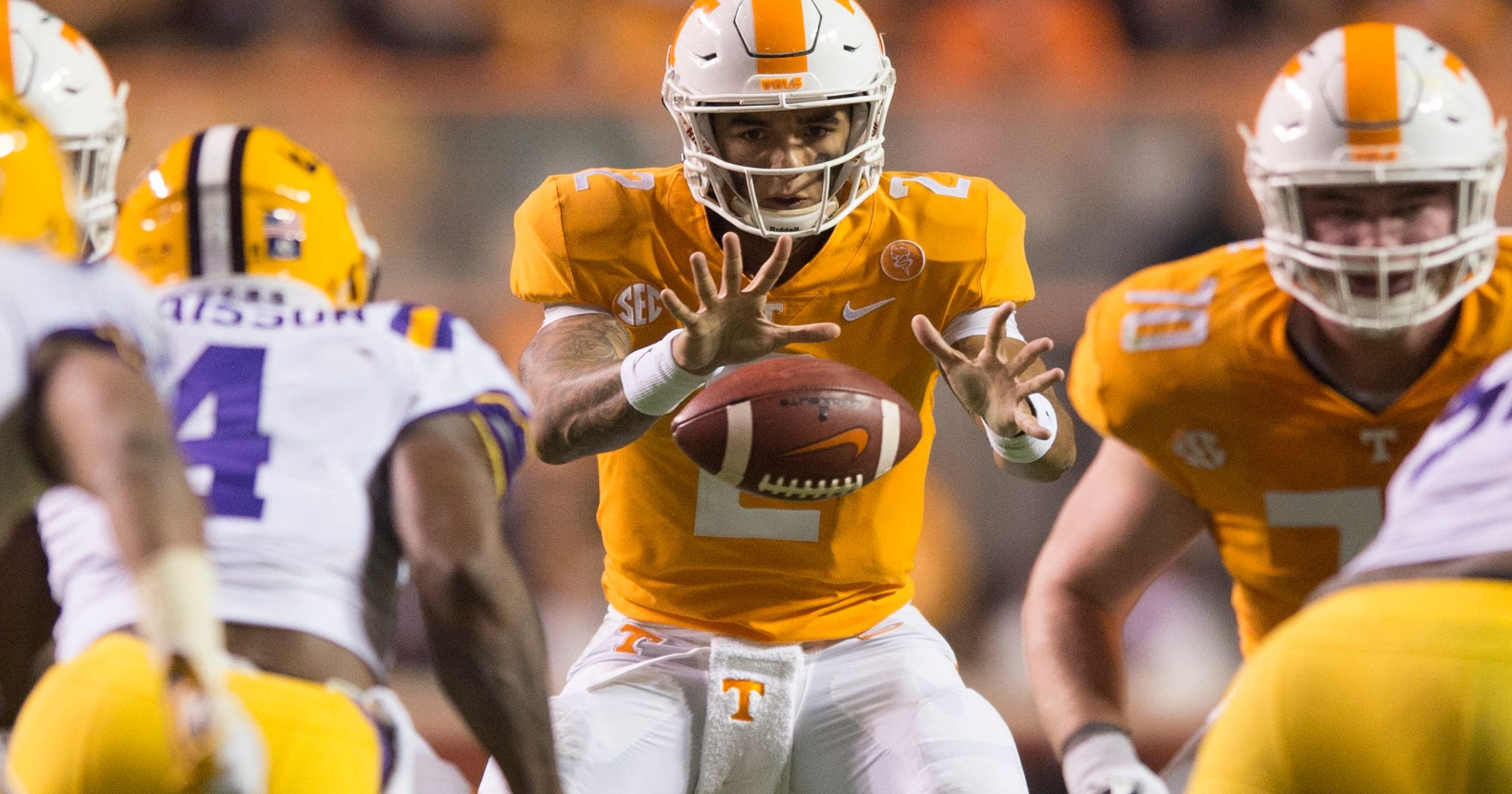 Ut Vols Projecting The Depth Chart For Tennessee