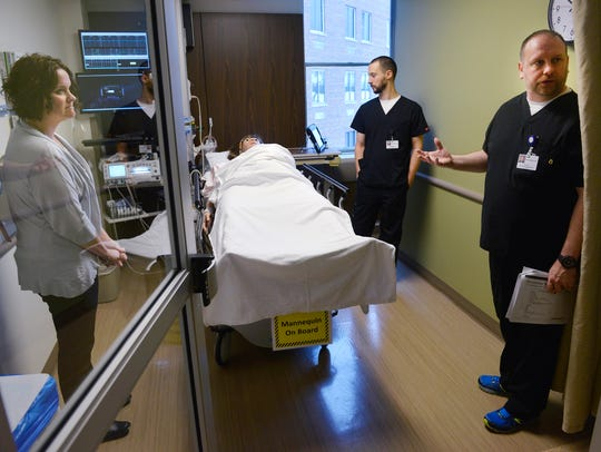 CentraCare Health Media/Simulation Specialist Jim Kiess,