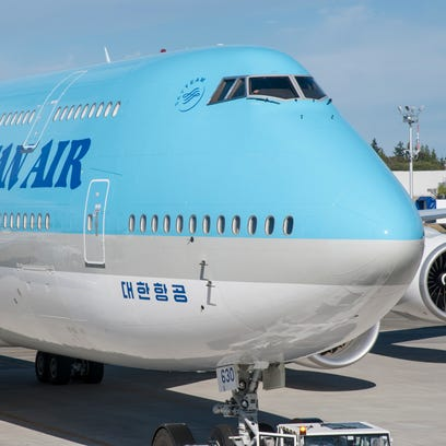 Korean Air takes delivery of its first 747-8 Intercontinental
