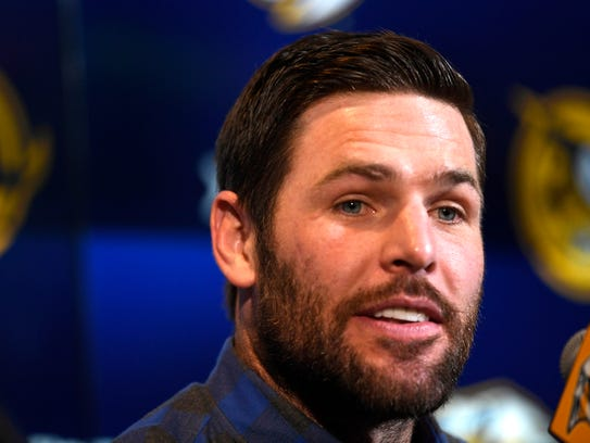 Mike Fisher announced Jan. 31 that he'd return from retirement to join the Predators for the playoff push.