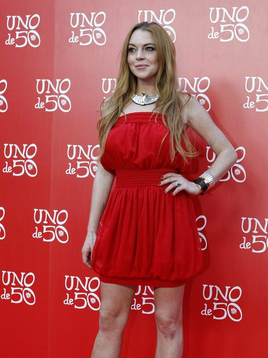 EPA FILE SPAIN LINDSAY LOHAN BIRTHDAY ACE FASHION ESP