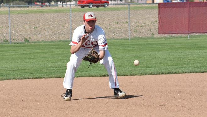 SJCC's Zach Militello was a first-team selection in the SBC River Division.