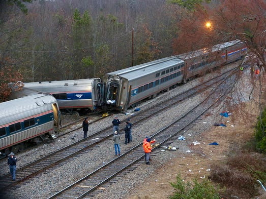 The crash, which involved Amtrak Train 91, occurred