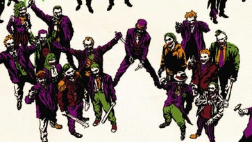 """Johnny Bender, aka """"Smiley,"""" is hopelessly devoted to the Joker."""