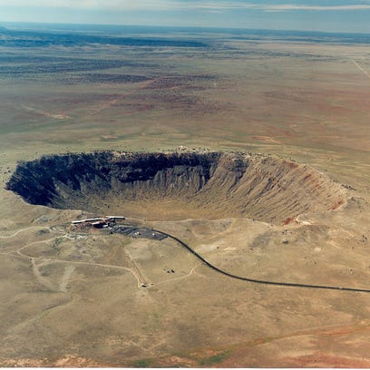 Meteor Crater is the first proven and the best preserved