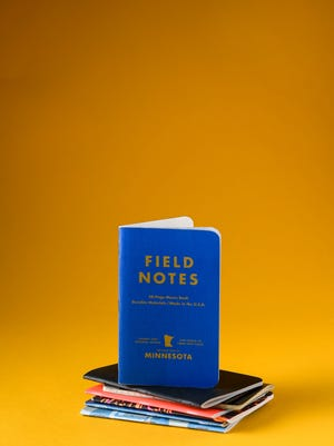 Notebooks are fashionable again. (Aaron Lavinsky/Minneapolis Star Tribune/TNS)