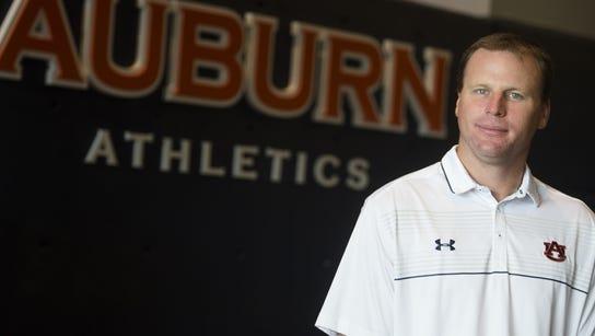 Gabe Gross at Auburn University on Wednesday, July