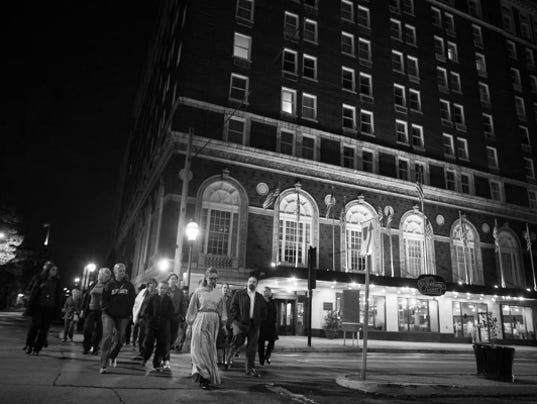 Spooky Downtown York Tour