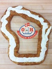The kringle is the official state pastry of Wisconsin.