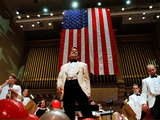 """Keith Lockhart, Boston Pops conductor, says he's conducted """"Fanfare for the Common Man"""" 25 to 30 times."""