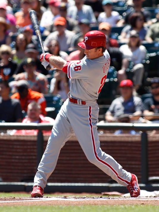 Phillies Giants Baseball