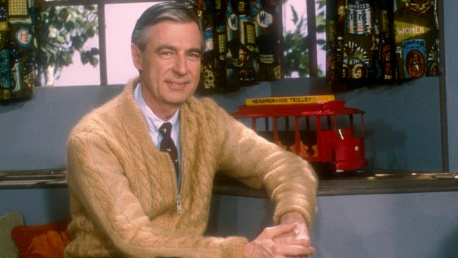 "Fred Rogers promoted kindness and curiosity as the soothing host of long-running children's show ""Mister Rogers' Neighborhood."""