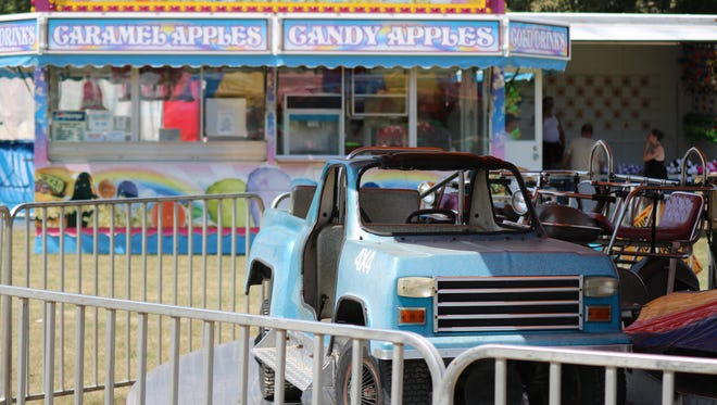 Young visitors can take a spin in these tiny cars or have a ride in a real classic car, a new addition to Marblehead Summerfest this year.