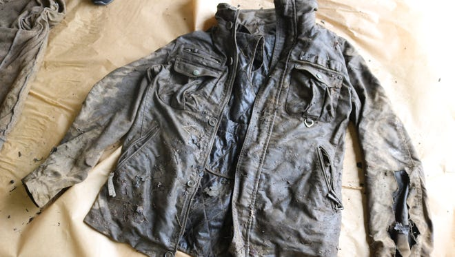 Fairview Township Police are seeking the public's help in identifying a man who was found wearing this jacket along the bank of the Susquehanna River on Saturday.