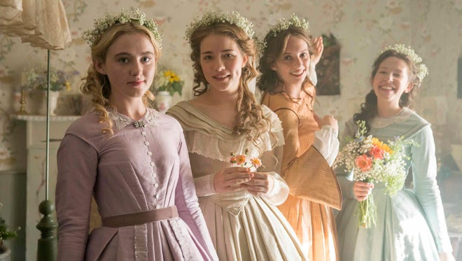 Kathryn Newton, Willa Fitzgerald, Maya Hawke and Annes Elwy star as the March sisters in 'Little Women,' concluding on PBS on Sunday, May 20.