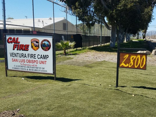 Camarillo Parolee Fire Camp Site